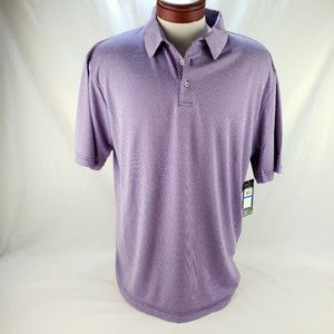 Men's Athletic Golf Polo by Ben Hogan Purple